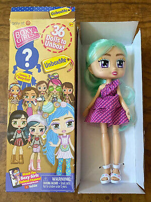 1 Boxy Girls *UNBOXME* Blind Mystery Doll Pack TARGET EXCLUSIVE 2019 Open Box