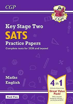 New KS2 Maths And English SATS Practice Papers Pack 2020 Tests) Pack2 CGP