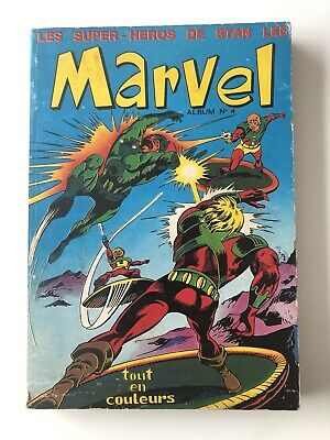 Album MARVEL N° 4 ( N° 11 12 13  ) LUG 1971 EO TBE No FANTASK STRANGE