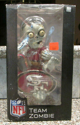 RARE SAN FRANCISCO 49ers TEAM ZOMBIE FIGURE FOREVER COLLECTIBLES SCARCE NFL