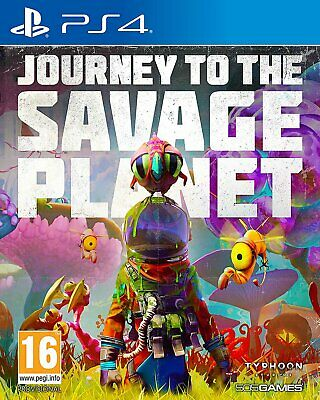 Journey to the Savage Planet Sony Playstation PS4 Game