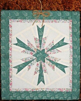 HANDMADE MODERNISTIC STAR WALL HANGING made in USA rare early1900's design  # 62