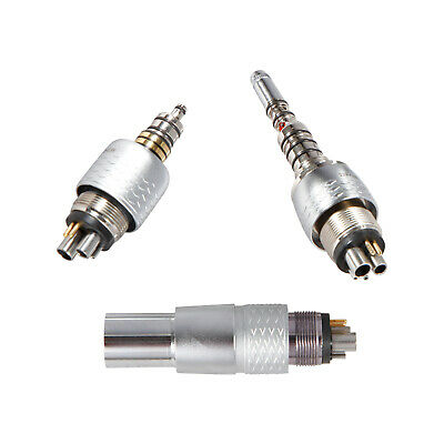 3 Types Dental Quick Coupling 6 Hole for Fiber Optic LED High Speed Handpiece CX