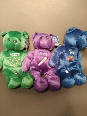 Buffy The Vampire Slayer Bears Limited Edition- set of 3