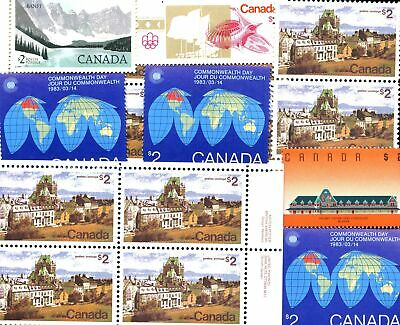 Lot of 997 Canada MNH Mint Postage Stamps Face Value $284.11 #142221 X