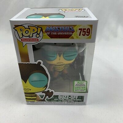 Funko Pop Buzz-Off Masters Of The Universe 2019 ECCC Shared Exclusive