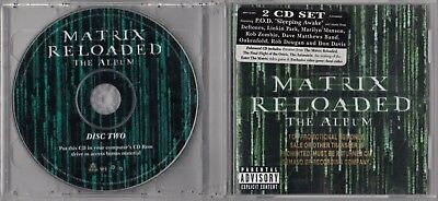 The Matrix Reloaded: Album [Pa ] By Originale Soundtrack (CD, May-2003, 2 Disco