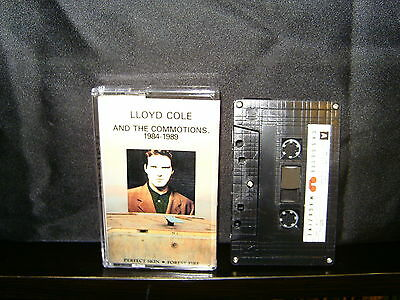 Lloyd Cole And The Commotions – 1984–1989 - Rare Cassette Magazine Cassette Tape