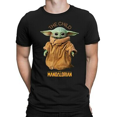Cute Baby Yoda Star War The Child Mandalorian T-Shirt