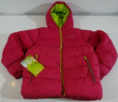 Regatta Lofthouse Girls Age 9-10 Pink Coat Jacket RRP £60 (NEW WITH DEFECT)