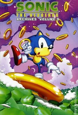 Sonic the Hedgehog Archives #9-1ST VG 4.0 2008 Stock Image Low Grade