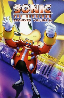 Sonic the Hedgehog Archives 20-1ST VF 8.0 2013 Stock Image
