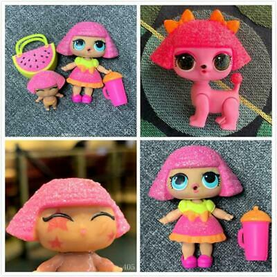 3x LOL Surprise Doll GLITTER Series QUEEN & LiL Sisters & Pet CLUB SERIES 2 Toys