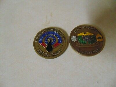 A2 Fort Lee New Jersey Police Department Challenge Coin