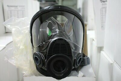 MSA Advantage 4000 Full Face Respirator Twin-Port Size Large 10083790 Silicone