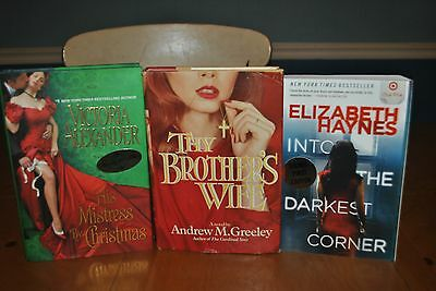 2 Rare Signed Books The Darkest Corner & His Mistress By Christmas + Free Book