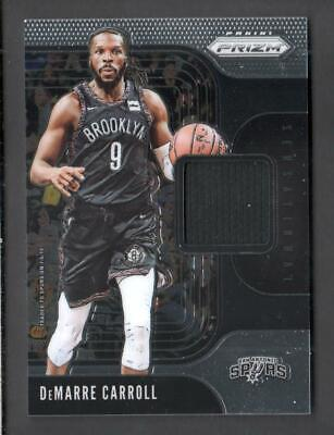 2019-20 Panini Prizm Basketball Sensational Swatches SS-DMC DeMarre Carroll