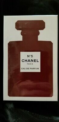 CHANEL No 5 Red Eau De Parfum Perfume 3.4 fl oz / 100 ml ~New, Sealed, AUTHENTIC