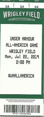Under Armour All Star Baseball Game Wrigley Field July 22Nd Collectible Ticket