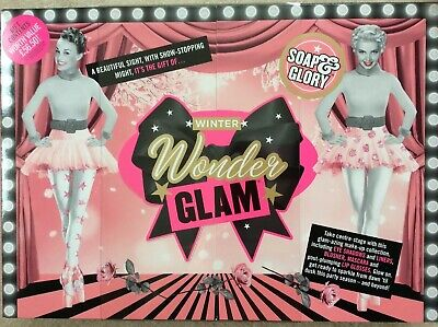 New Soap & Glory Winter Wonder Glam Make Up Gift Boxed Set Contents Worth £56.50