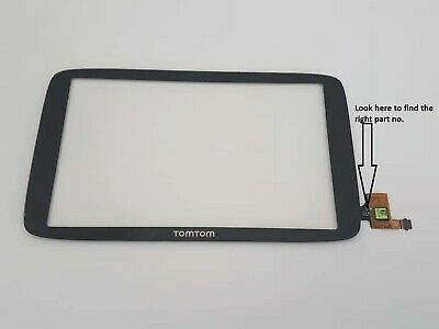 TomTom Go 620 WiFi Touch Screen Digitizer Glass Replacement Part no TVS1