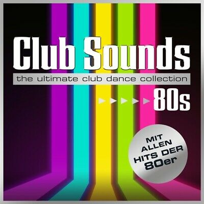 Various - Club Sounds 80s CD (3) SME Media NEW