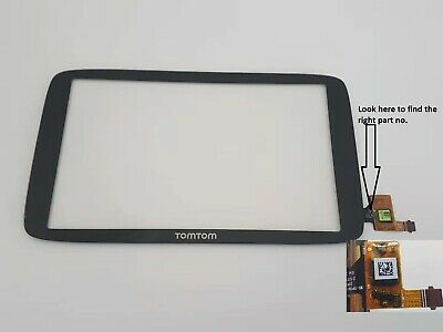 TomTom Go 620 WiFi Touch Screen Digitizer Glass Replacement Part no WI-TPI601
