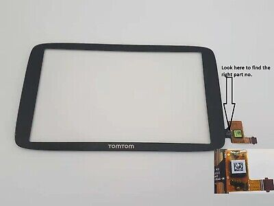 TomTom Go 6250 Touch Screen Digitizer Glass Replacement Part no WI-TPI601