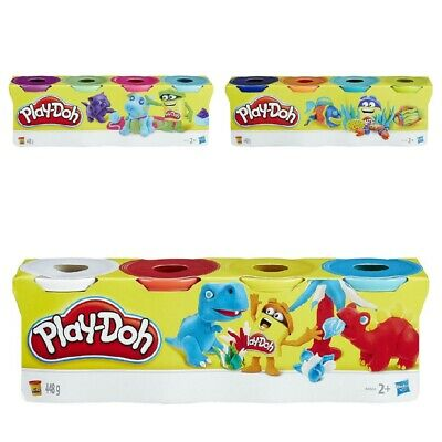 Play-Doh Colour Classic Tubs 4 Pack - 1 Pack Supplied, Chosen at Random