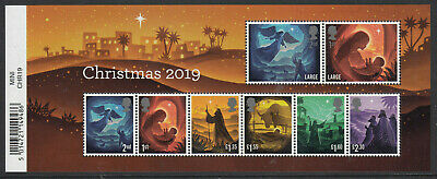 Gb 2019 Christmas Miniature Sheet Mnh
