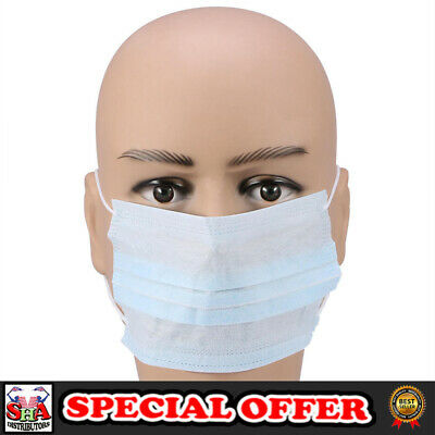 Disposable Face Masks Earloops Surgical Medical Mask 50 No Box High Quality New