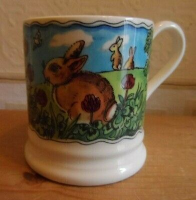 Emma Bridgewater Easter Bunny Year in the Country Mug