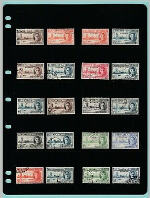 Stamps - British  Commonwealth - Victory - 10  Sets  Of  Used  Stamps  Of  1946