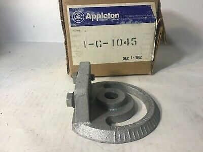 Appleton Crossarm Mounting Bracket G1045 Lighting Accessory 0-180 Degree Radius