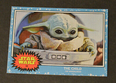 Topps Living Set - STAR WARS #58 THE CHILD Baby Yoda! The Mandalorian Card *NEW*