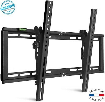 Support Murale TV Inclinable Orientable LED LCD Plasma Incurvé 26-75 Vesa 600