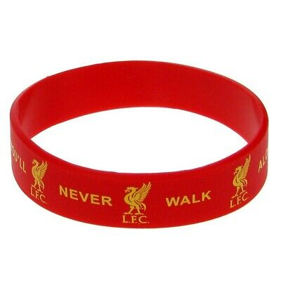Liverpool FC Official Silicone Wristband (TA1309)