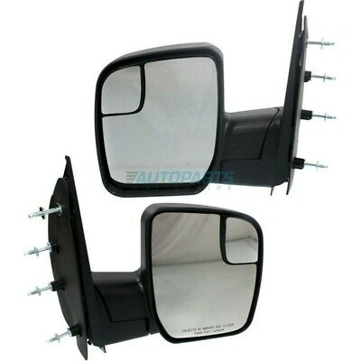 NEW RIGHT SIDE MANUAL MIRROR NON HEATED FITS 2003-2014 FORD E-150 FO1321395