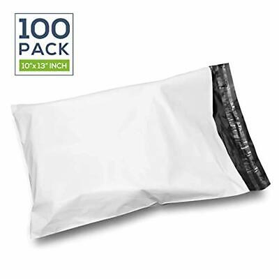 Poly Mailer Envelopes, 100 Pieces/Packs| Self Seal Adhesive Strip, 0.1 Inches