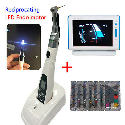 Dental LED Endo Motor Wireless 16:1 Reduction Apex Locator DTE DPEX III files UK