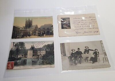 """Photo Postcard Album Spare Pages 6"""" x 4"""" A4 Archive Quality Acid Free Pack of 25"""
