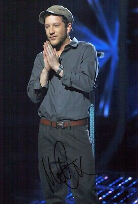 Matt CARDLE The X Factor Winner SIGNED Autograph 12x8 Photo B AFTAL COA