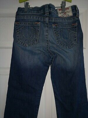 Boys True Religion Straight legged Jeans Age 10