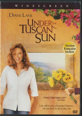 Under the Tuscan Sun (DVD, 2004, Canadian, Widescreen) Diane Lane