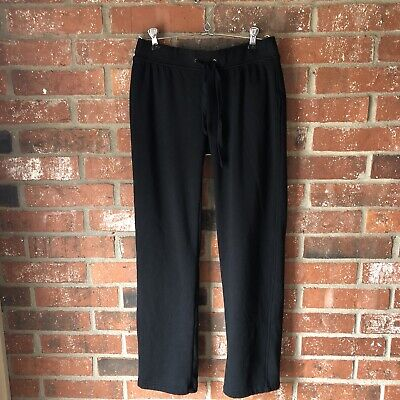 UGG Women's Penny Black Size Small Straight Leg Lined Pants