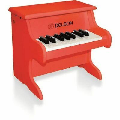 DELSON Piano bebe rouge 18 touches