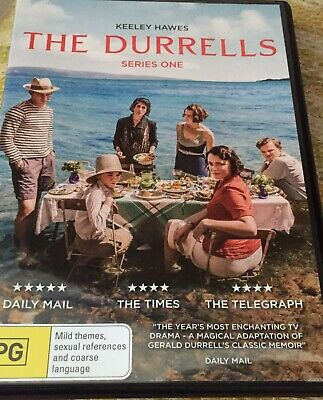 BBC - The Durrells - S1 - KEELEY HAWES (2-Disc Set) - PAL R4 - *FREE STD POST*