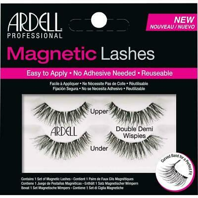 Ardell Magnetic Lashes Double Demi Wispies New No Adhesive Needed