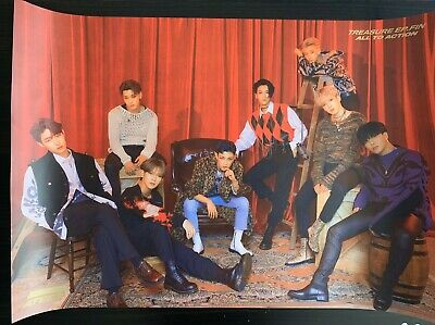 ATEEZ Treasure EP. FIN All To Action Z Version FOLDED Poster