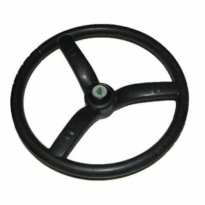 New Steering Wheel 3 Spoke Black Rubber Made For Massey Ferguson Tractors ECs